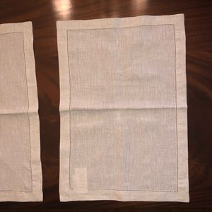 NWT *Set of 10* Pottery Barn Linen Placemats